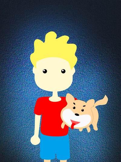 格先生和他的柴犬