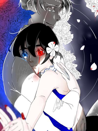 红与白的魔女